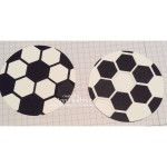 Learn how to make a Soccer Ball for your Soccer Card