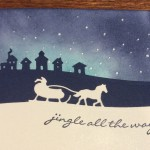 Winter Sleigh Ride Card