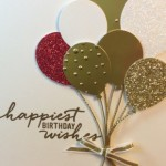 Balloon Card with Bling