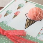 How will you send your Card with a Honeycomb Embellishment?