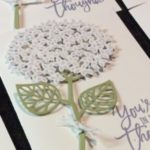 Hydrangea Card – with 'Thoughtful Branches'