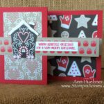 Gingerbread House Double Z-Fold Card