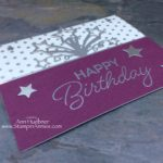 Birthday Blast Silver Celebration Card