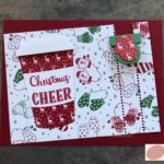 Christmas Zipper Card
