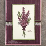 Beautiful Lots of Lavender Card